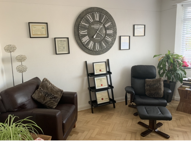 Hypnotherapy and Counselling Room in Wirral